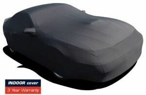 Fits 2008 2019 Dodge Challenger Indoor Satin Stretch Car Cover Black Onyx