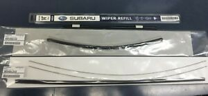 2014 2018 Subaru Forester Front Rear Windshield Wiper Blade Refill Set Genuine