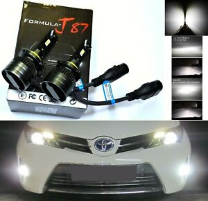 Led Kit G8 100w 9005 Hb3 6000k White Two Bulbs Head Light Dual Beam Replacement