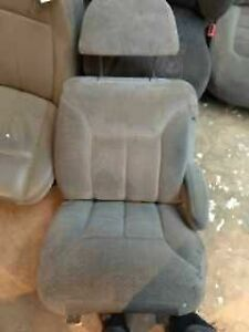 1995 Tahoe 2dr Rh Gray Manual Lumbar Cloth Seat Front 23348