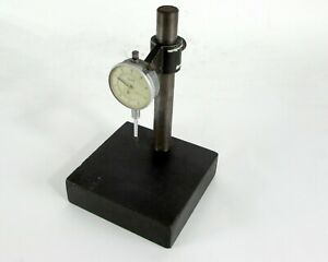 Teclock 001 1 0 Dial Gage Indicator W Adjustable Stand Base
