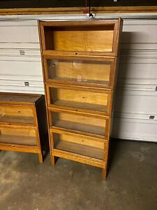 Antique Barrister S Stackable Bookshelves