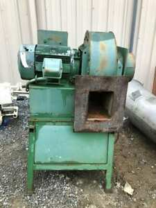 76j 12385 20hp Squirrel Cage Blower 3540rpm 230 460v 256t 3ph