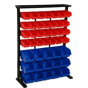 Sontax 43 Removable Storage Bins Rack Parts Accessories Organizer Table Top