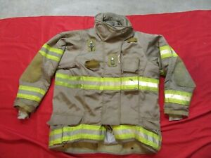 Securitex Turnout Bunker Jacket 44 X 1 Sleeve Thermal Zip out Liner Firefighter