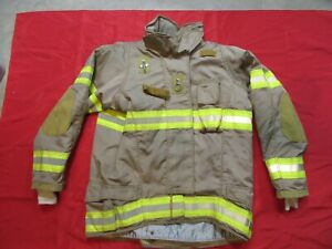 Securitex Turnout Bunker Jacket 44 X 2 Sleeve Thermal Zip out Liner Firefighter
