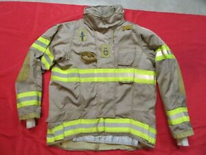 Securitex Turnout Bunker Jacket 42 X 2 Sleeve Thermal Zip out Liner Firefighter