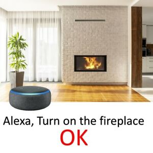 Alexa Controlled Fireplace Smart Relay Switch Kit For Millivolt Gas Valve