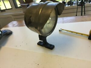 Working Rare Hooded Headlight Harley Indian Ace Henderson Bsa Triumph Ford