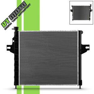 New Aluminum Radiator Replacement For 1999 2000 Jeep Grand Cherokee 4 7l V8 2263