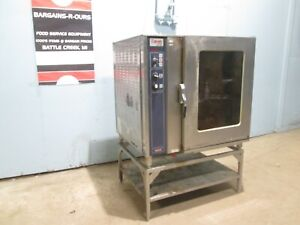 rational Cos101s Heavy Duty Commercial 208v 3ph Stand Alone Combi Oven steamer
