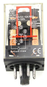 Ice Cube General Purpose Relay Choose Voltage 8 Pin 11 Pin Ac Or Dc