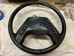 87 91 Ford Bronco Truck Bronco 2 Steering Wheel Leather Wrap 1987 1991
