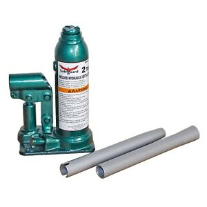 Hydraulic Jacks 2 Ton Welded Bottle Jack