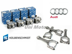 06h107065dd 4 X Pistons And Connecting Rods Repair Set 23mm For Audi A4 Q5 2 0t