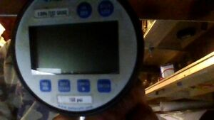 Ashcroft Digital Pressure Gauge With Case Unit Has Been Calibrated