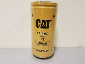 Caterpillar Cat Duramax Fuel Filter 1r 0750 Factory Sealed New