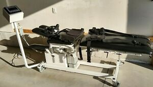 Chattanooga Saunders 3d Active Trac 73000 Spinal Decompression Traction Table