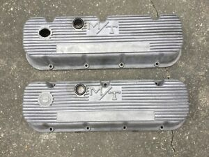 Mickey Thompson M T Aluminum Bbc Chevy Valve Covers 396 427 454 Chevrolet