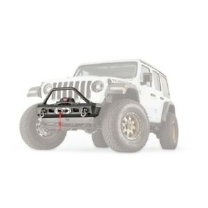 Warn 101330 Elite Stubby Bumper With Grille Guard For Jl Jt New