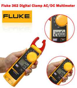 Fluke 362 Digital Ammeter Clamp Tester Ac dc Multi function Universal Precision