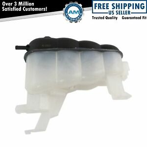 Radiator Coolant Overflow Tank Bottle Reservoir With Cap For Cadillac Chevy Gmc