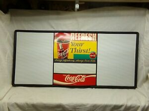 Used Coca Cola Menu Board 49