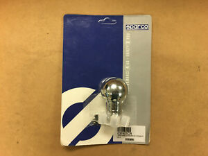 closeout Sparco Racing Universal Shift Knob Spherical Polished