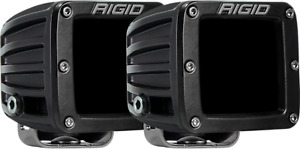 Rigid Industries Dually Ir Driving Led Light Infrared Lights Pair 502393