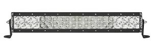 Rigid Industries E Series Pro Hybrid Spot Flood 20 Led Light Bar Combo 120313