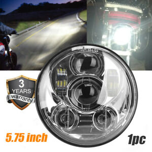 Motorcycle 5 75 5 3 4 Led Headlight Projector For Dyna Sportster Xl1200 Xl883