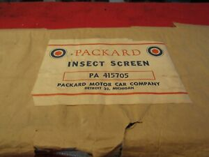 1948 50 Packard Accessory Insect Screen