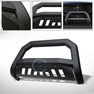 Fit 97 03 Ford F150 F250 Expedition Matte Black Avt Bull Bar Bumper Grille Guard