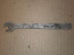 1920s Houk Wire Wheel Spoke Adjusting Wrench Tool Stutz Maxwell Apperson Buick