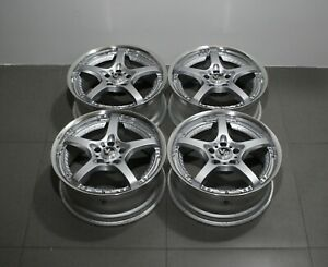 Jdm Rare Rays Volk Racing Sf Challenge 18inch 8j 5x114 3 Split Wheels Vs Kf Sp1