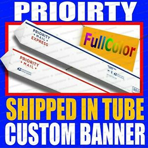 2 X 5 Custom Vinyl Banner 13oz Full Color Free Design Included Rolled