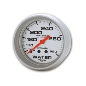 Autometer 4431 Ultra lite Mechanical Water Temp Gauge 2 5 8