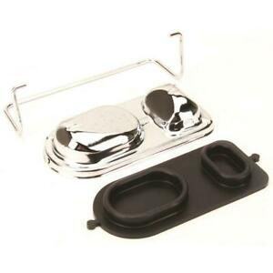 Speedway Motors Chrome Plated Master Cylinder Cover Brake Lid For 91031420
