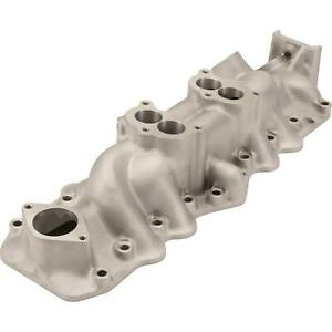 1949 53 Flathead Flat Head Ford V8 Dual Intake Manifold Satin Finish