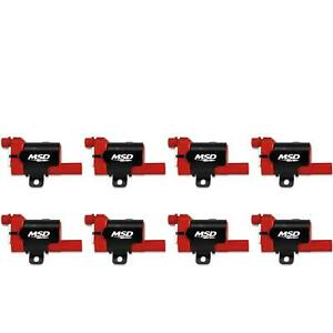 Msd 82638 Blaster Ls Coil For 99 07 Gm L series Truck 8 pack