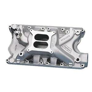 Weiand Ford 351w Windsor Dual Plane High Rise Stealth Intake Manifold Imca