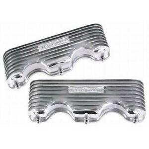 Offenhauser 5042 348 409 Chevy Finned Aluminum Valve Covers