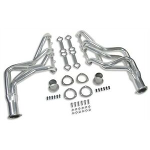 Flowtech 31100flt Sbc Small Block Chevy 350 Long Tube Header Ceramic Coated