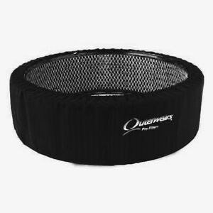 Outerwears 14 X 5 Tall Air Cleaner Outerwear Black