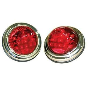 Technostalgia 6064 1940 1941 Willys Coupe 12v Led Conversion Tail Lights