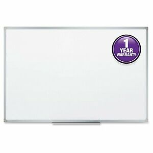 Mead Dry erase Board Smooth Durable Writing Surface 36 X 24 Inch Aluminum Frame