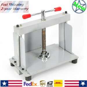 A4 Size Manual Flat Paper Press Machine For Paper Invoices Steel Flattening Kit