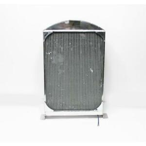 Afco 1933 34 Ford Car Polished Aluminum Radiator Chevy Engine S
