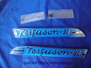 To30 Massey Ferguson Tractor Hood Emblems new
