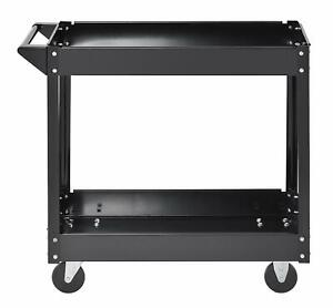 New muscle Rack Sc3016 Industrial Black Commercial Service Cart